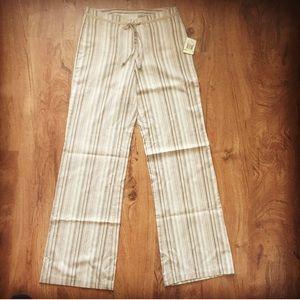 Michael Kors Military Chic Khaki Stretch Pants
